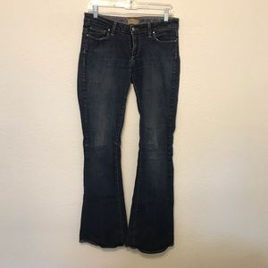 Paige canyon flare 28 tall jeans